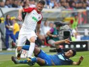 FC Augsburg: Nur einer ist schneller ist als Heller