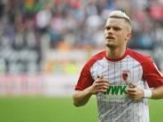 FC Augsburg: Wegen Dopingprobe: Philipp Max verpasst den FCA-Flieger
