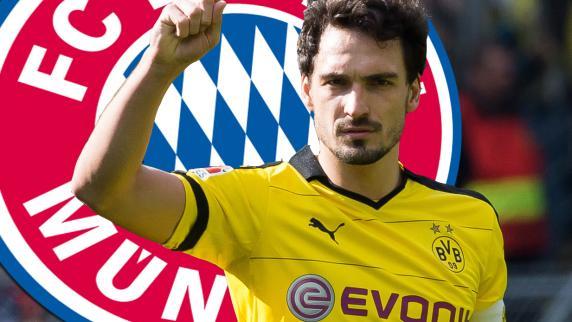 Mats Hummels FC Bayern Muenchen Borussia Dortmund