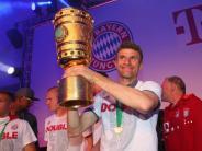 FC Bayern: Die Pokal-Party auf dem Marienplatz live im TV und Stream - aber nicht auf dem BR