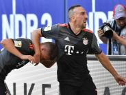 FC Bayern: Franck Ribéry: Bartpflege oder Tätlichkeit?