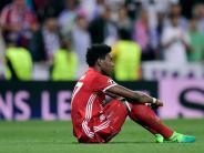 FC Bayern: David Alaba für Pokal-Hit gegen Dortmund fraglich