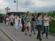 Wallfahrt Erstmals spielen Bläser auf...: Auch die Jugend pilgert mit