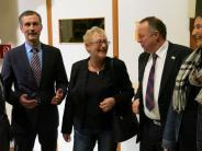 Podiumsdiskussion in Friedberg: Die Bürgerdrängen zu den Kandidaten
