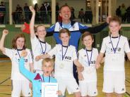 Futsal Landkreismeisterschaft: Mit Minimal-Aufwand zum Erfolg