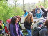 Wallfahrt: Junge Pilger aus Friedberg ziehen flott voran