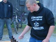 Flachlandgames in Mering: Alte Säge schlägt Spezialwerkzeug