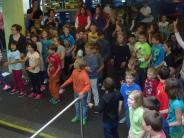 Aktionstag: Ein Flashmob in der VIP