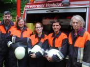 Feuerwehr: Von Männerdomäne keine Spur