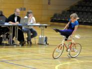 Kunstradfahren: Technisch schwierig, aber elegant