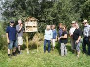 Natur in Mering: Neuer Unterschlupf für die Insekten