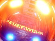 Polizeireport Althegnenberg: 50000 Euro Schaden durch Brandstiftung