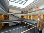 : Ein Blick in das neue Gymnasium Mering