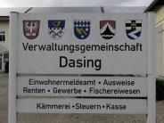 Dasing: Nagl tritt als VG-Vorsitzender zurück