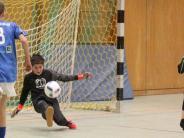 Futsal D-Junioren: Nur einer wahrt die weiße Weste