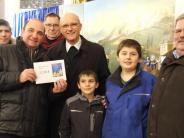 : 2100 Euro der Krippenfreunde für St. Franziskus