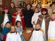 Christmette in Merching: Seit Oktober proben die Kinder fürs Krippenspiel