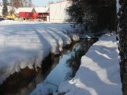 Hochwasser: Steindorf schützt sich mit einem Damm