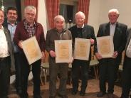 Jubiläum in Ried: Viele Auszeichnungen beim SV Ried