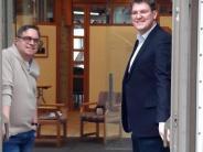 Kirche: Sankt Jakob will ein Café in Friedberg aufmachen