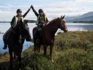Ausland: Mit dem Pferd über die Felder Irlands