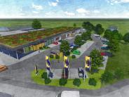 Projekt: Ried treibt Bau des Supermarktes voran