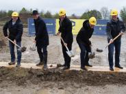 Baugebiet in Mering: Spatenstich fürs Meringer Oberfeld