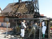 Polizei: Neue Hinweise auf Brandursache in Kissing