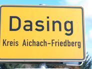 Dasing: Dasing stoppt Grundstücksvergabe
