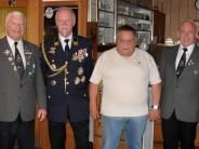 : Ehrung bei den Veteranen