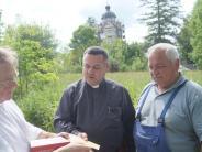 Farbwechsel in Kissing: Kissinger Burgstallkapelle wird in Ocker gestrichen