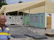 Vereinin Merching: Merchinger Seglerheim nimmt Gestalt an