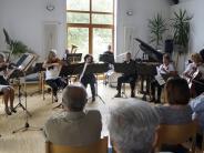 Auftritt: Musiker verbreiten Sommerstimmung
