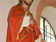 Kirche: Die geretteten Figuren haben einen neuen Platz