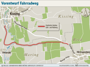 Projekt: Wolf will den Radweg verwirklichen