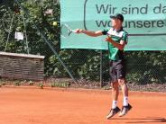 Tennis: Meringer setzt sich in Friedberg durch