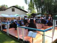 Sommerfest: D'Paartaler feiern