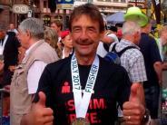 Triathlon: Der Älteste bewältigt die größte Anstrengung