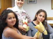 : Projekt: Syrische Frauen lernen nähen