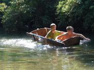 Ferienin Kissing: Startklar für Sautrogregatta auf der Paar