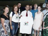 Städtefreundschaft: Israelis schließen Meringer in ihre Arme