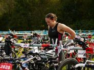 Triathlon: Vor dem Weltmeister im Ziel