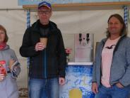 Mering: Verkostung an der Meringer Trinkwasser-Bar
