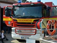 Bildergalerie: Feuerwehr zeigt, was sie kann
