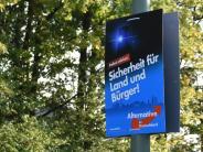 Bundestagswahl: AfD-Ergebnis im Kreis Aichach-Friedberg sorgt für Entsetzen