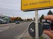 Umgehung für Kissing: Aktionsbündnis zählt in Kissing den Verkehr