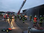 Rettungskräfte: Wenn ein Stadel abbrennt