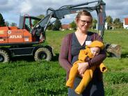 Neubau: Merching wächst noch ein Stück weiter