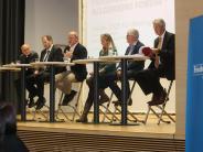 Podiumsdiskussion in Mering: Eine Vision – sechs Meinungen
