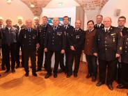 Auszeichnung: Landrat ehrt aktive Feuerwehrmänner